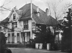 Vijverlaan 16 Pension de Gelder,  Anno 1957. Coll. Oud Seyst & Omstreken