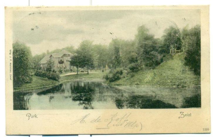 Wilhelminapark - 1902