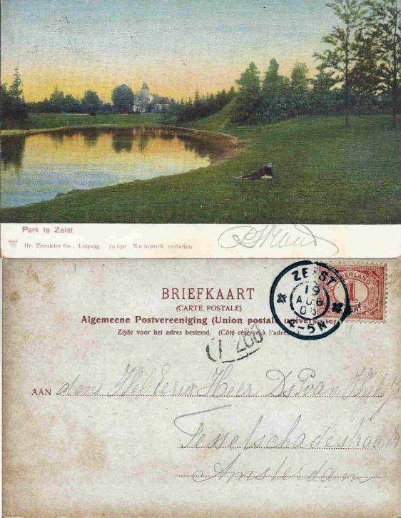 Wilhelminapark 1905