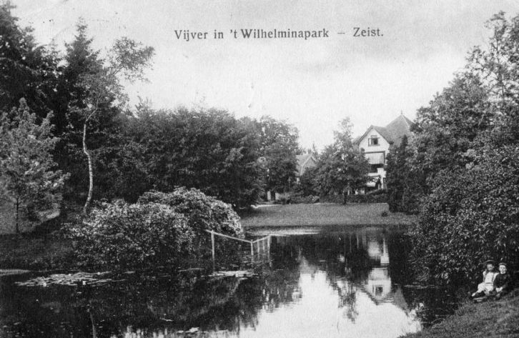 Wilhelminaparkvijver 1920