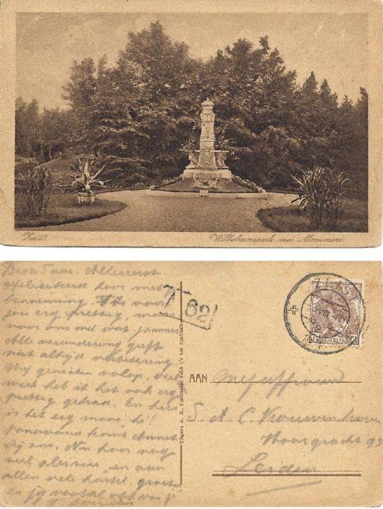 Wilhelminapark - 1924