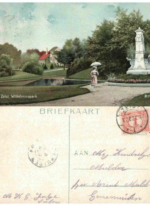 Wilhelminapark 1907