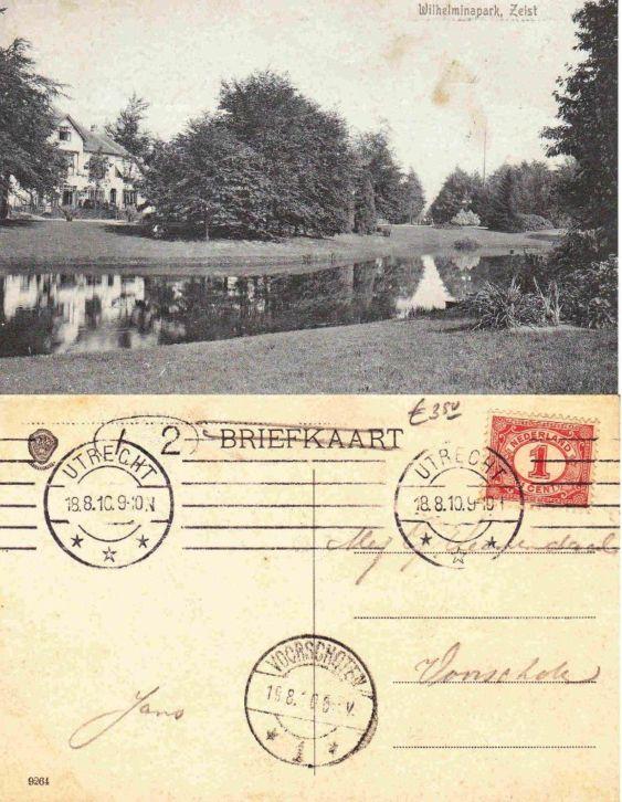 Wilhelminapark 1910