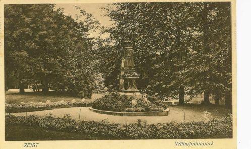 Wilhelminapark - 1920-1940