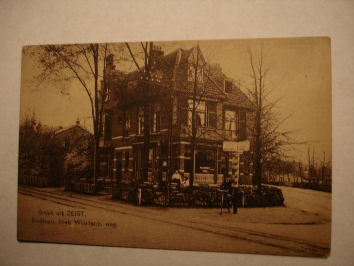 Woudenbergseweg / hoek Slotlaan - 1920